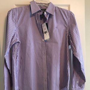 Ralph Lauren women's striped blouse NWT